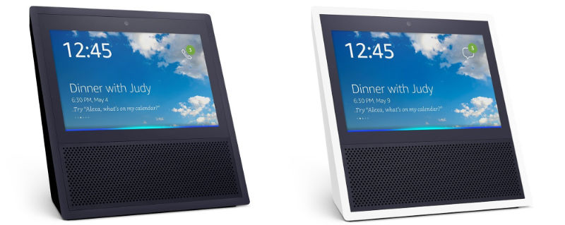Amazon Echo Show - Echo mit Bildschirm und Kamera für Videotelefonie