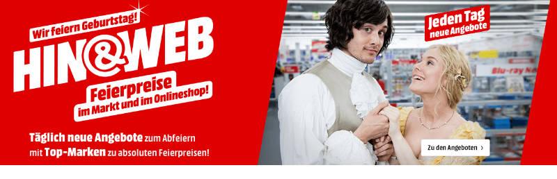 Hin & Web - Geburtstag - Feierpreise im Onlineshop