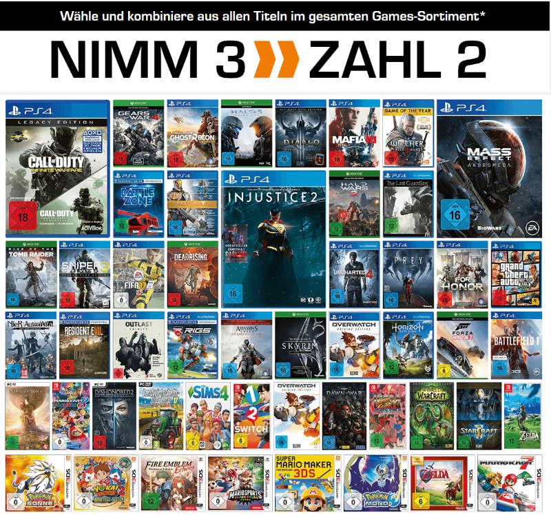 Nimm 3 zahl 2 - Spiele / Games für Konsolen und PC
