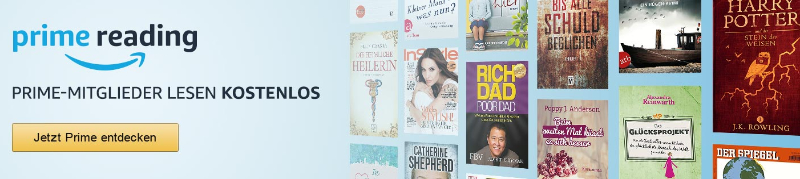 Prime Reading - Kostenlose eBooks, Magazine, Reiseführer, Comics