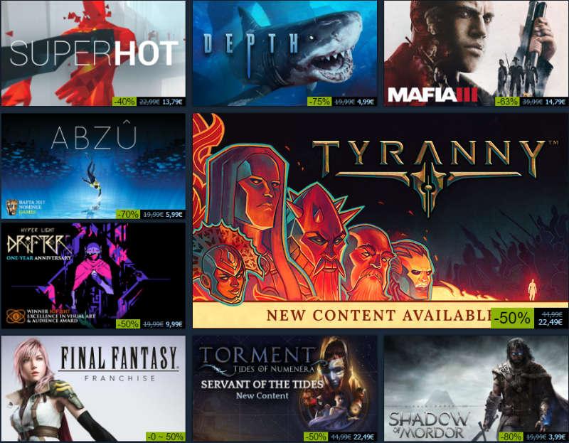 Steam Summer Sale bi 5. Juli - täglich neue Schnäppchen in Sachen Games