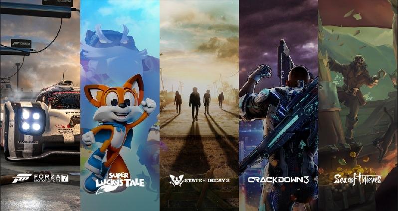 Xbox One X - Spiele