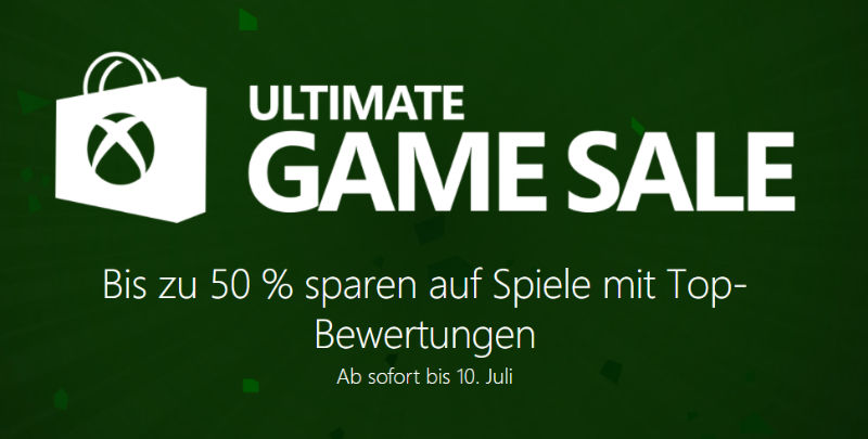 Ultimate Game Sale - Xbox Live 2017