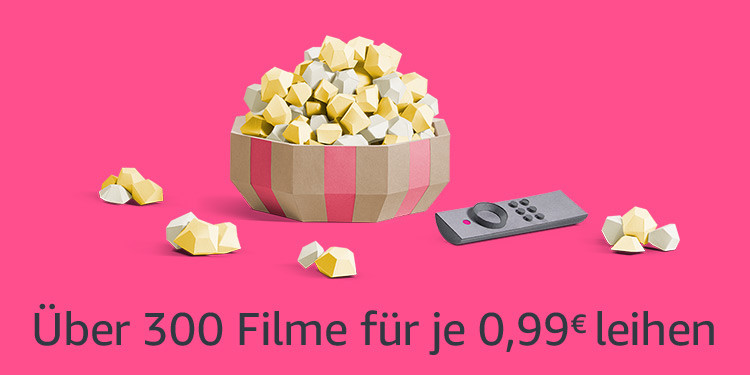 Amazon Video - 300 Filme für je 99 Cent mit Prime