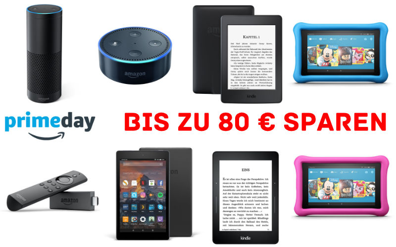 Amazon Prime Day 2017 gestartet - Die Amazon Devices im Angebot