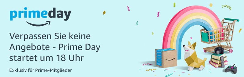 Prime Day startet schon heute um 18 Uhr - 10 Juli 2017