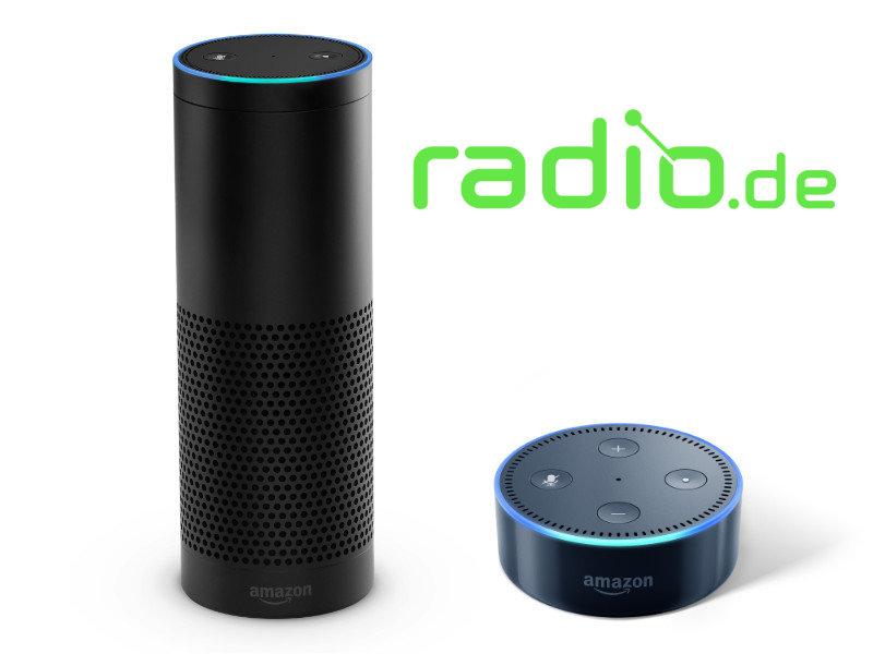 radio.de mit Alexa und Amazon Echo nutzen