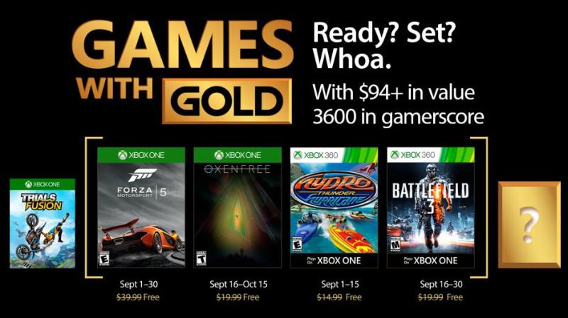 Games with Gold - kostenlose Spiele für Xbox Live Mitglieder