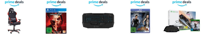 Prime Deals zur Gamescom 2017