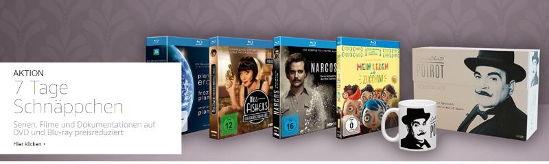 Serien, Filme und Dokumentationen günstiger