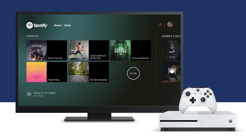 Spotify für Xbox One