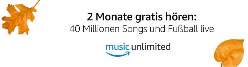 2 Monate Music Unlimited von Amazon kostenlos - Familienmitgliedschaft