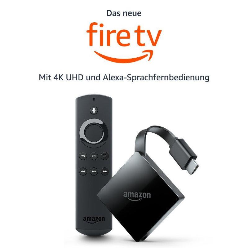 Neues Fire TV 4K UHD mit HDR (10) für unter 80 Euro