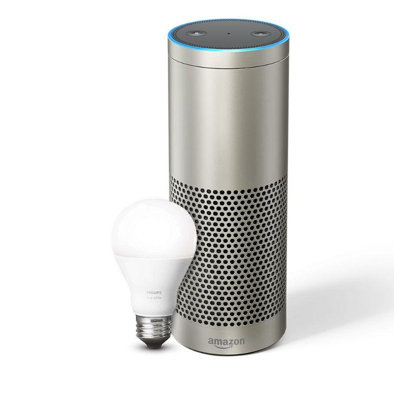 Amazon Echo Plus - vorbestellen - silber - schwarz - weiß