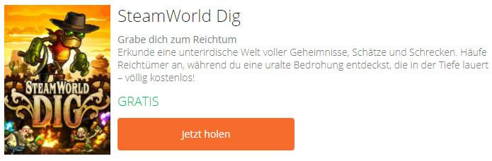 SteamWorld Dig kostenloses PC-Spiel