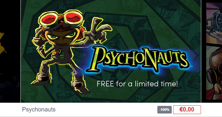 Spiel Psychonauts - 3D Jump & Run - Windows / Linux / Mac OS gratis