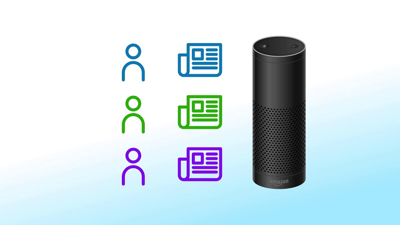 Amazon Alexa - Echo kann zukünftig mehrere Personen an der Stimme unterscheiden