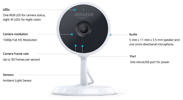 Amazon Cloud Cam - Kamera für Smart Home