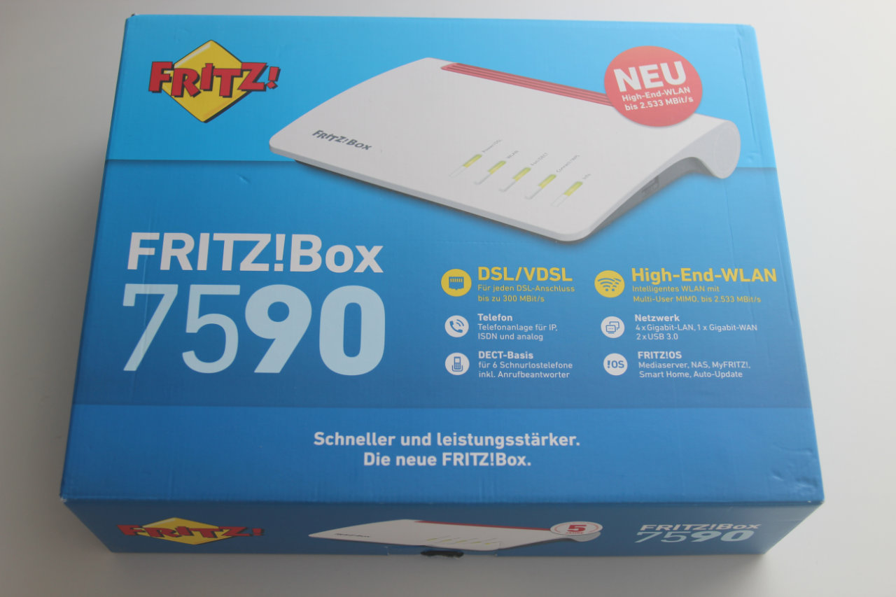 FRITZ!Box 7590 mit FRITZ!OS 6.90 im Test