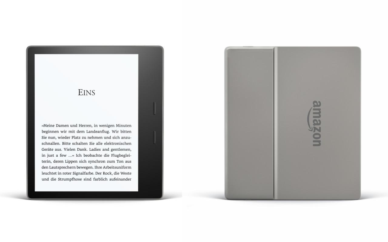 Der neue Kindle Oasis - 2. Generation - wasserfest - 7-Zoll-Display - Audible Hörbücher
