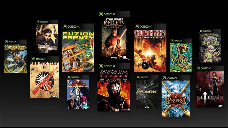 Original Xbox-Spiele der ersten Generation auf der Xbox One, Xbox One S und Xbox One X spielen