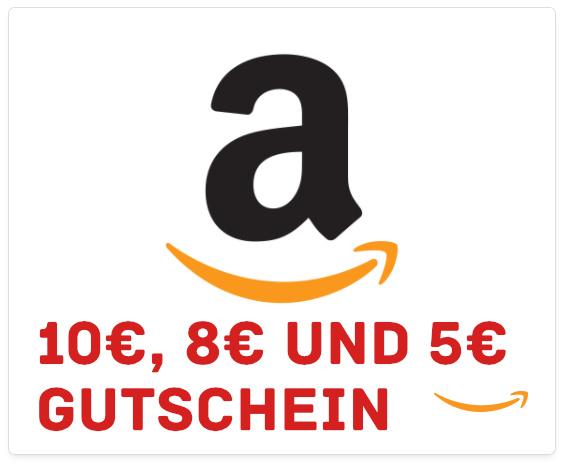 Amazon Geschenk- und Aktionsgutscheine im Dezember - Weihnachten 2017