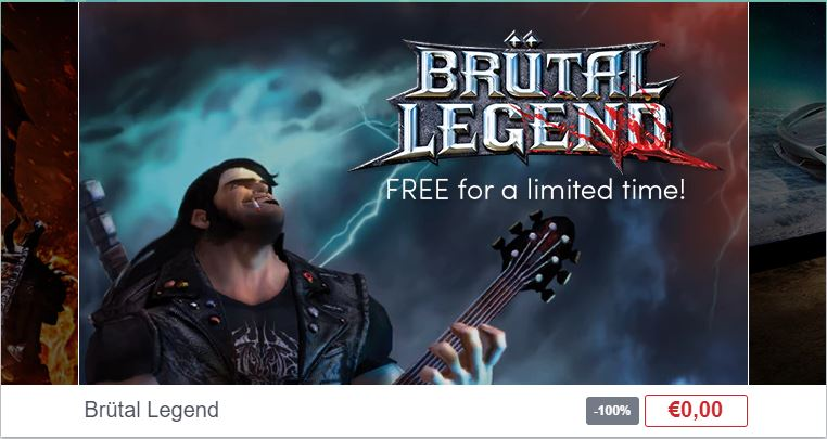 Brütal Legend kostenloser Download Steam