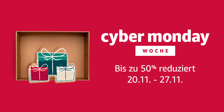Cyber Monday Woche und Black Friday 2017 - Amazon