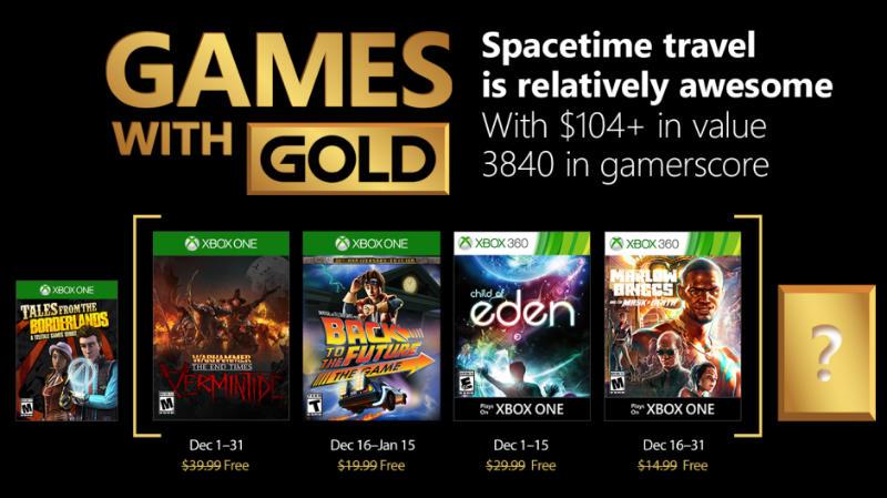 Kostenlose Spiele innerhalb der Xbox Live-Mitgliedschaft Dezember
