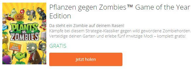 Pflanzen gegen Zombies - kostenloses PC-Spiel