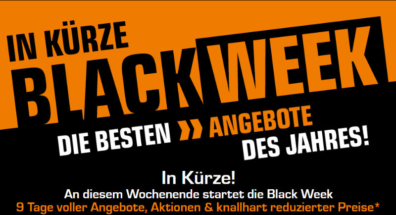 Black Week Prospekt Saturn