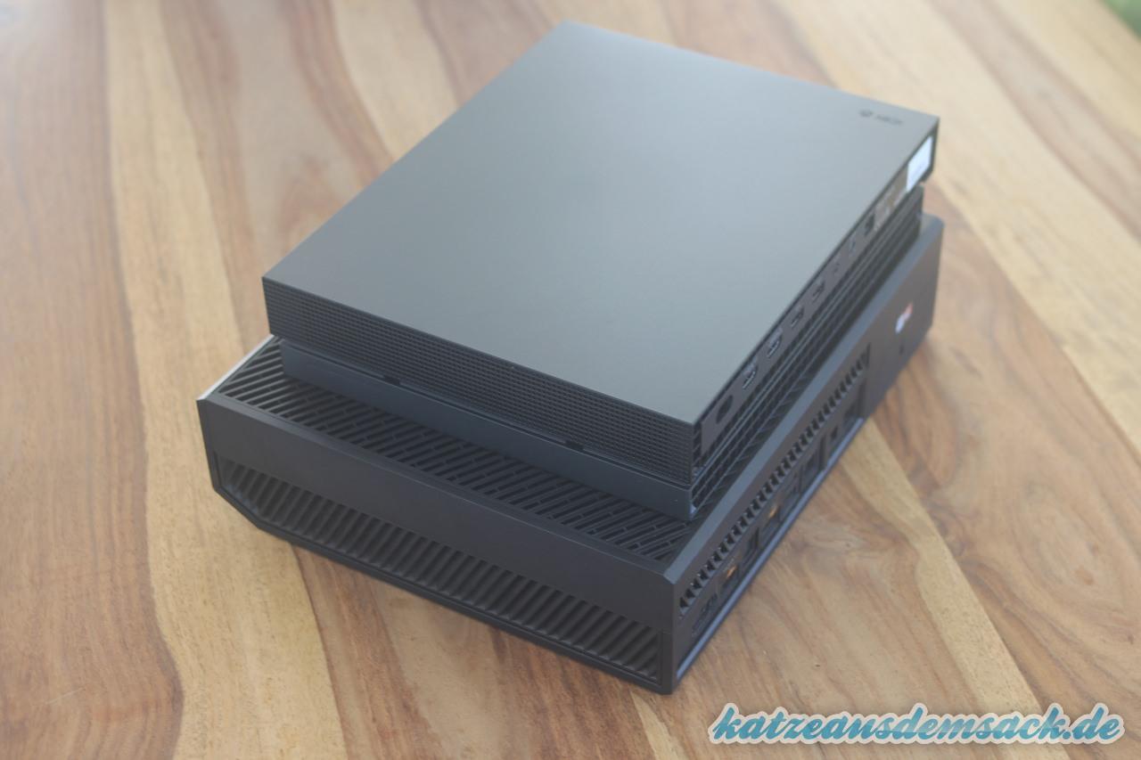 xbox one x unser erster eindruck der neuen 4k konsole von. Black Bedroom Furniture Sets. Home Design Ideas