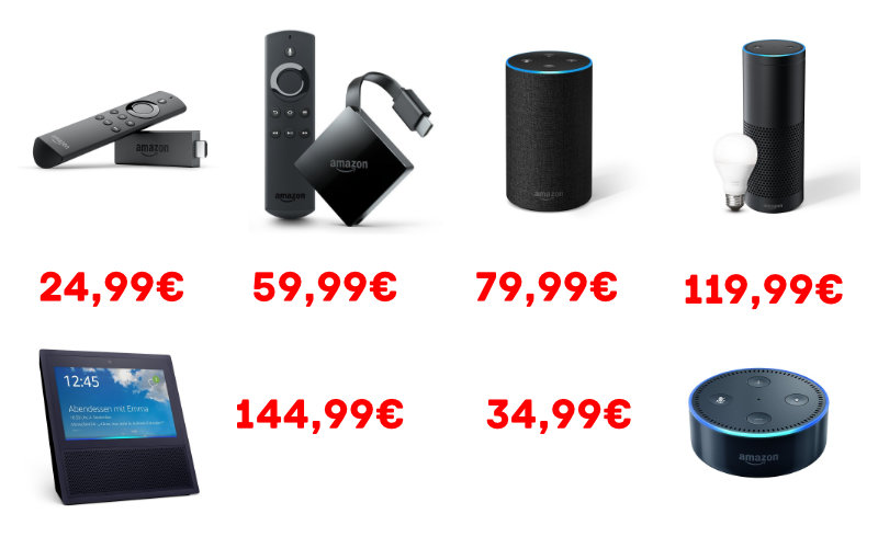 Fire TV 4K HDR und Echo Show gute Angebote