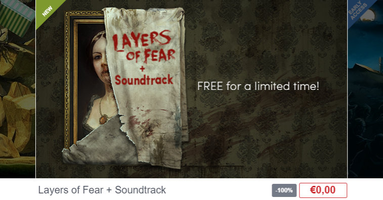 Layers of Fear für PC-MAC-Linux gratis downloaden