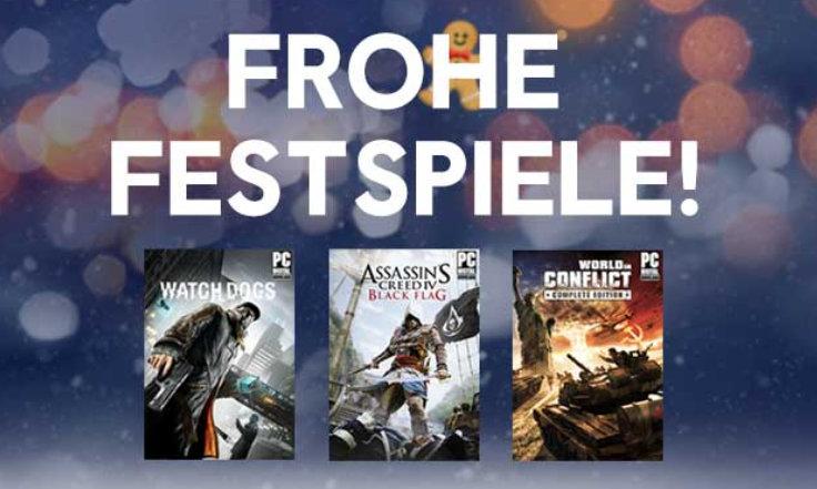 Ubisoft - Kostenlose Spiele erneut verfügbar - Download