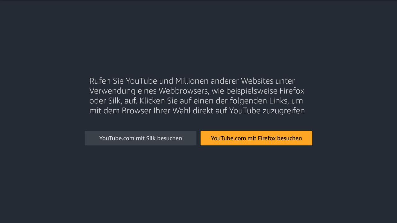 Amazon aktualisiert YouTube App für Fire TV und schaltet Funktion ab - kommt damit YouTube zuvor