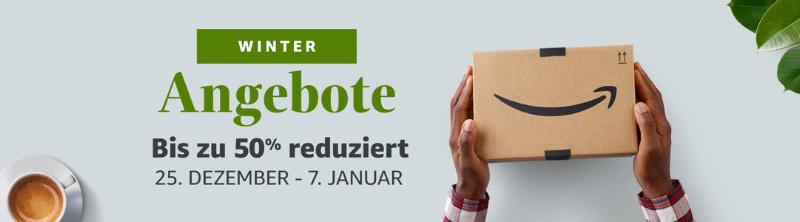 Winter Angebote bei Amazon - Technik bis zum 07. Januar reduziert