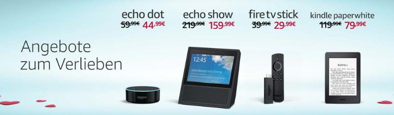 Amazon Echo Sho für unter 150 Euro im Doppelpack