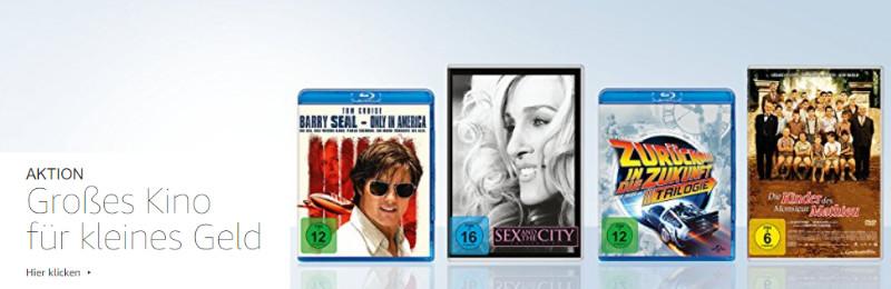 Großes Kino für kleines Geld - Filme und Serien für Zuhause