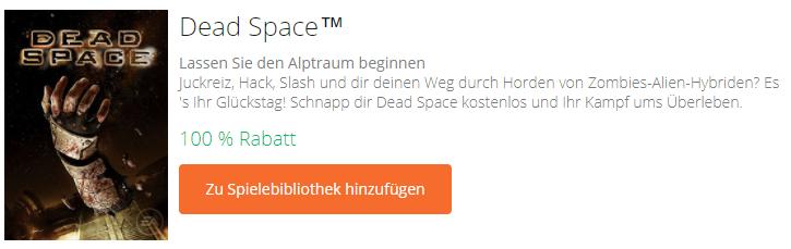 Dead Space - kostenloses PC-Spiel