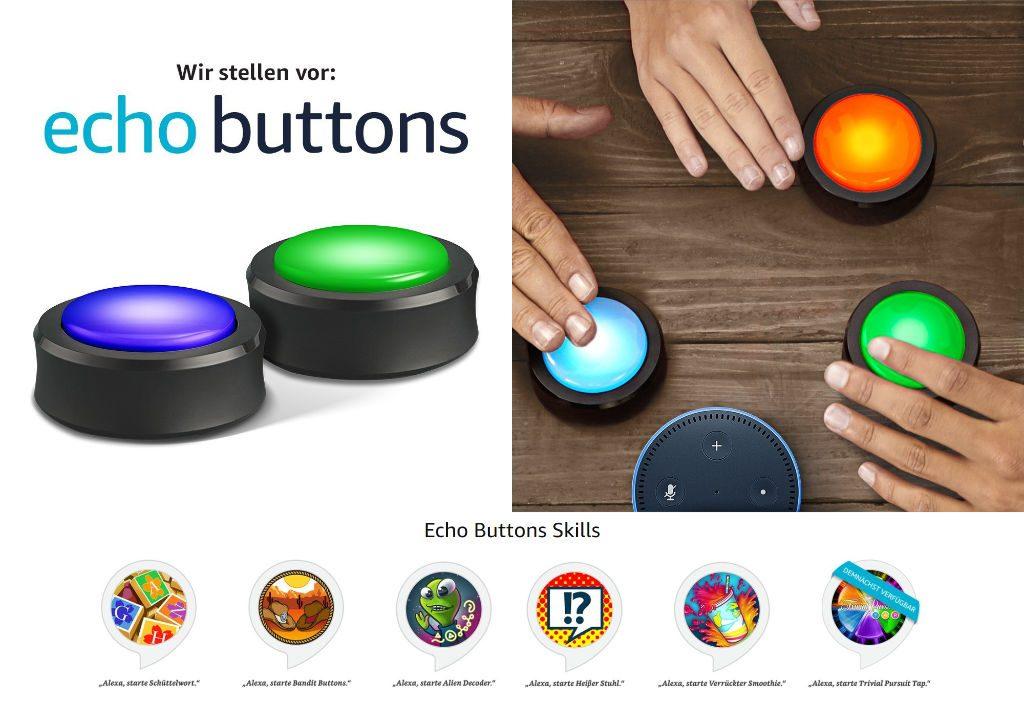Echo Buttons - Spielen und Lernen mit Alexa und Amazon Echo