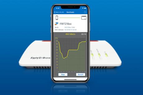 WLAN messen - FRITZ!Box - FRITZ WLAN-App für iPhone / iOS
