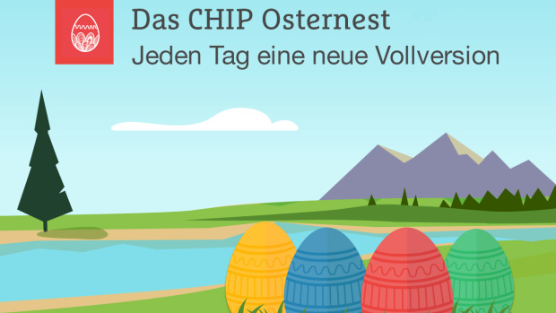 Chip Osternest 2018 - Gratis Vollversionen Software - Oster-Special