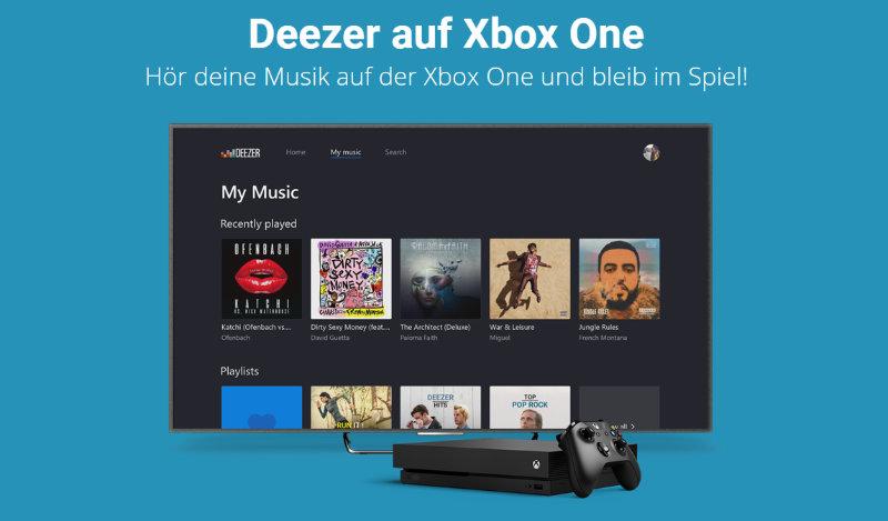Deezer auf der Xbox One (S/X) nutzen - neue App - eigene Musik in Games hören
