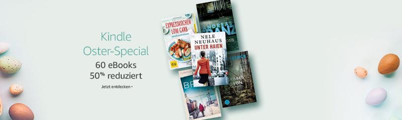 Kindle Oster-Special - reduzierte eBooks nicht nur für Kindle eReader