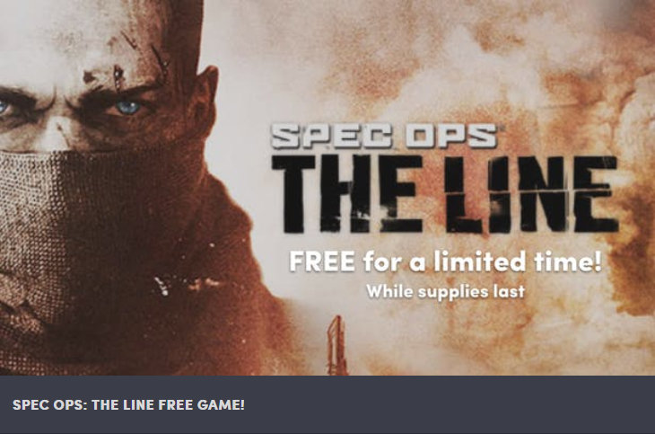Spec Ops - The Line für PC,MAC und Linux gratis downloaden