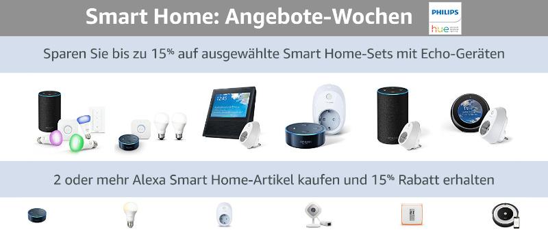 Amazon Echo für 33,99 Euro im Doppelpack oder TP-Link HS100(EU) für 19,55 Euro im DP