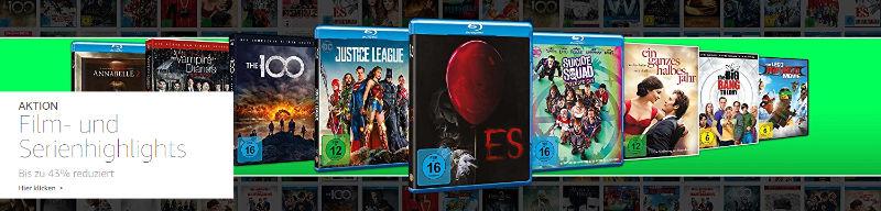 7 Tage Rabatte auf Filme und Serien bei Amazon