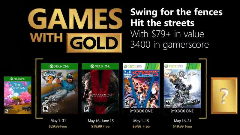 Kostenlose Spiele innerhalb der Xbox Live-Mitgliedschaft Mai 2018