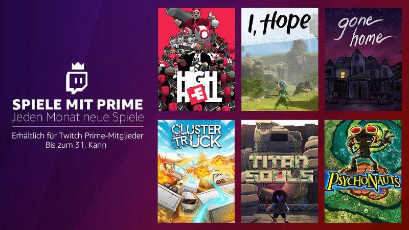 Spiele mit Prime - jeden Monat neue PC-Spiele kostenlos - Mai 2018